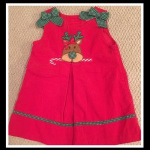 Other - Toddler girl holiday dress💚❤️